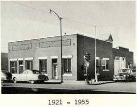 Building on 4th and Kansas 1921 to 1955