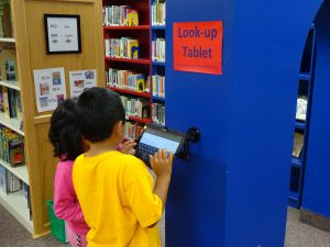 Library Look-up Tablet