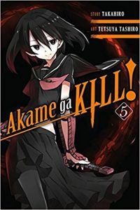 Akame ga kill! 5 by Takahiro