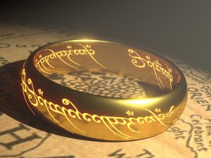 Ring from Lord of the Rings