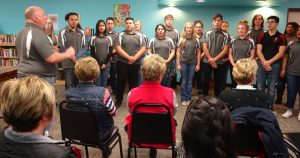 Redskin singers