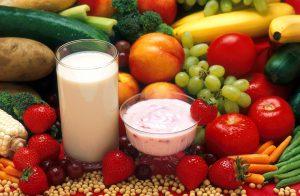 fruit vegetables dairy