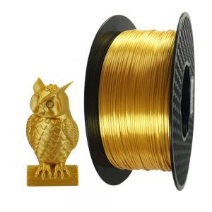 silk gold filament