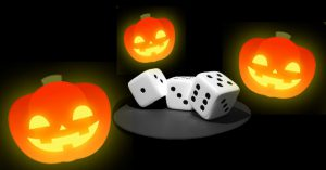 Dice and Jack-o-Lanterns