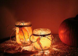 Image of two leaf jars