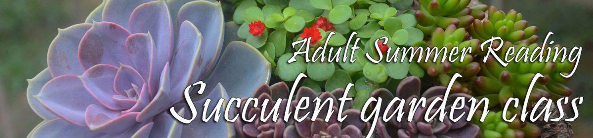 Succulent garden class