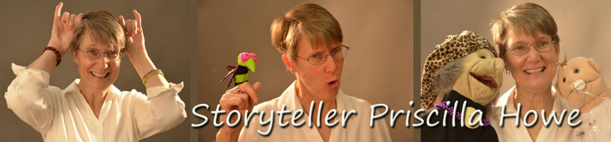 Storyteller Priscilla Howe