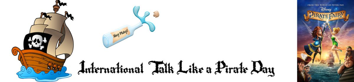Talk like a pirate day - movie Pirate Fairy