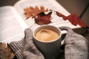 autumn leaf book