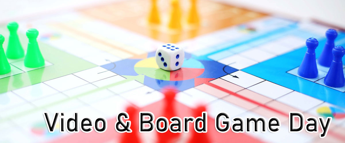 video and board games
