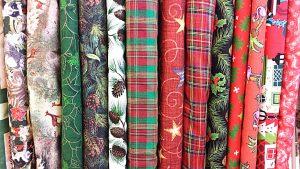 Christmas Holiday fabric cloth