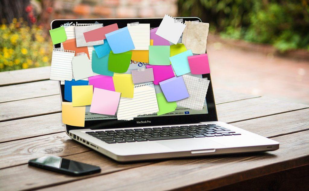 Bulletin board computer