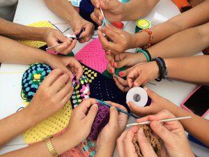 Crochet hands