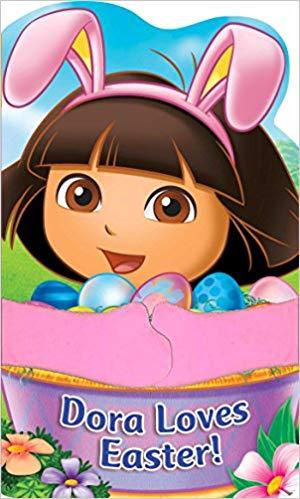 Dora loves Easter!