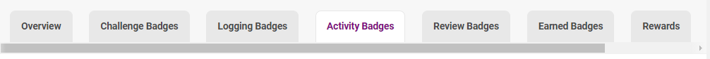 Beanstack activity badges
