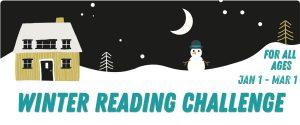 2021 Winter Reading Banner