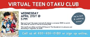 April Virtual Teen Otaku Club