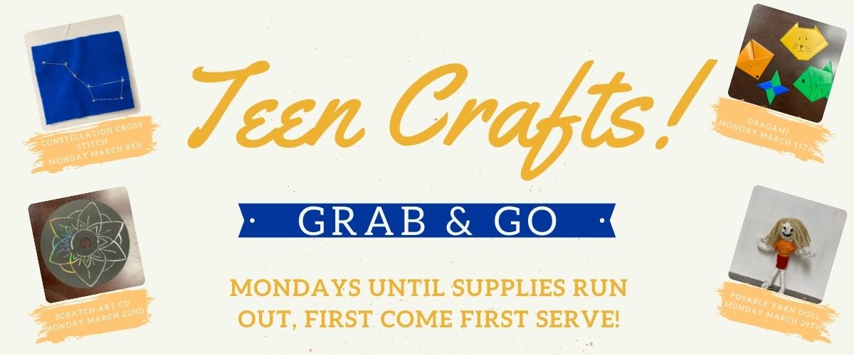 Teen Grab & Go Craft