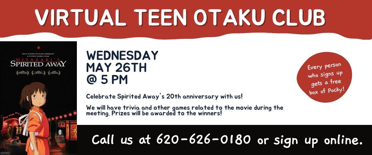 May 2021 Virtual Teen Otaku Club