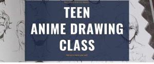 Teen Anime Drawing Class