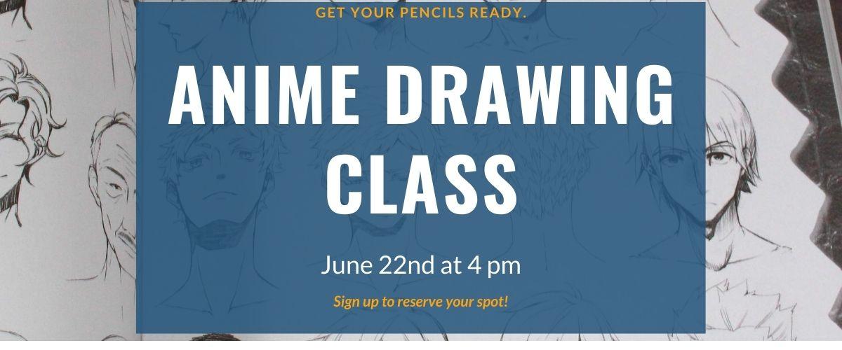 Anime Drawing Class