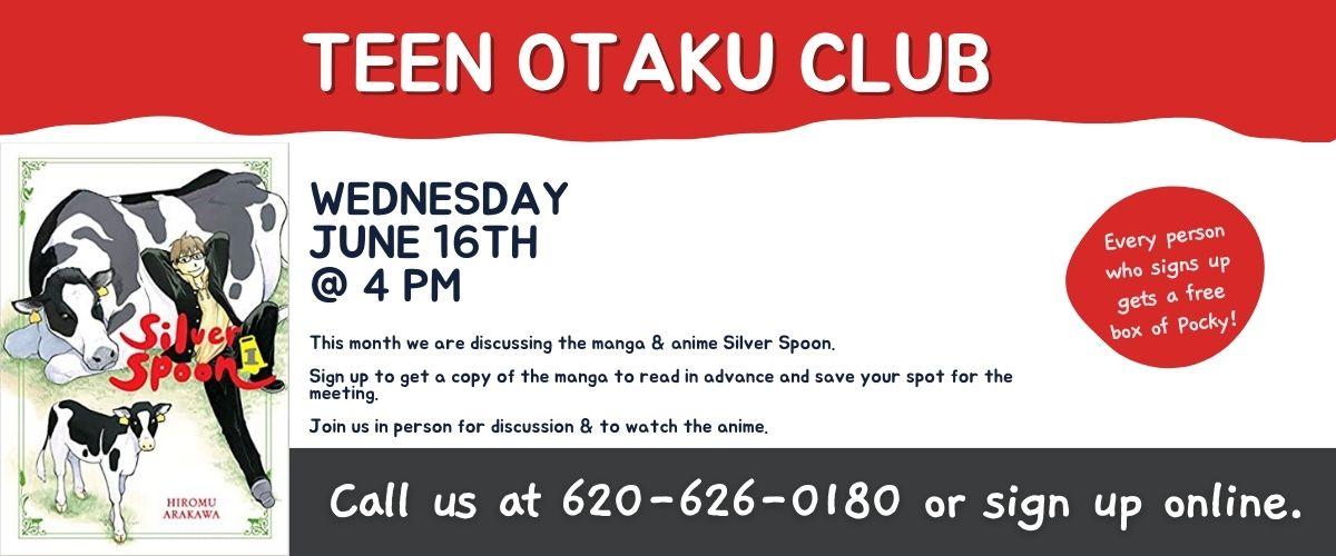 June 2021 Teen Otaku Club