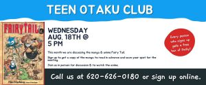 August 2021 Teen Otaku Club