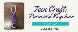 July 2021 Teen Grab & Go Craft