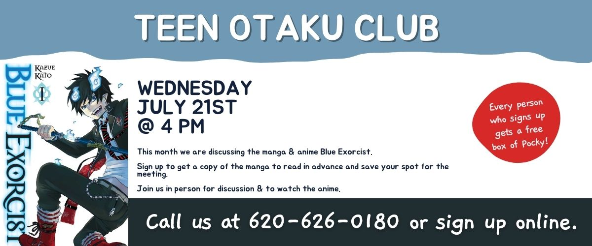 July 2021 Teen Otaku Club