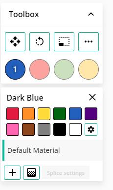 canvas change colors