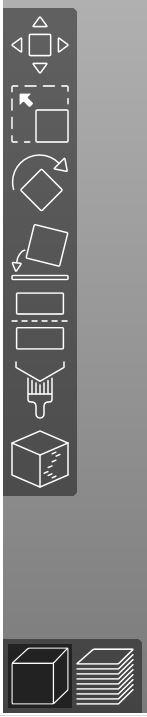 prusaslicer left toolbar