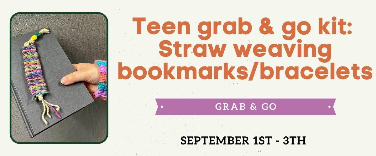 September 2021 Teen Grab & Go Craft