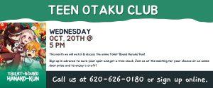 October 2021 Teen Otaku Club