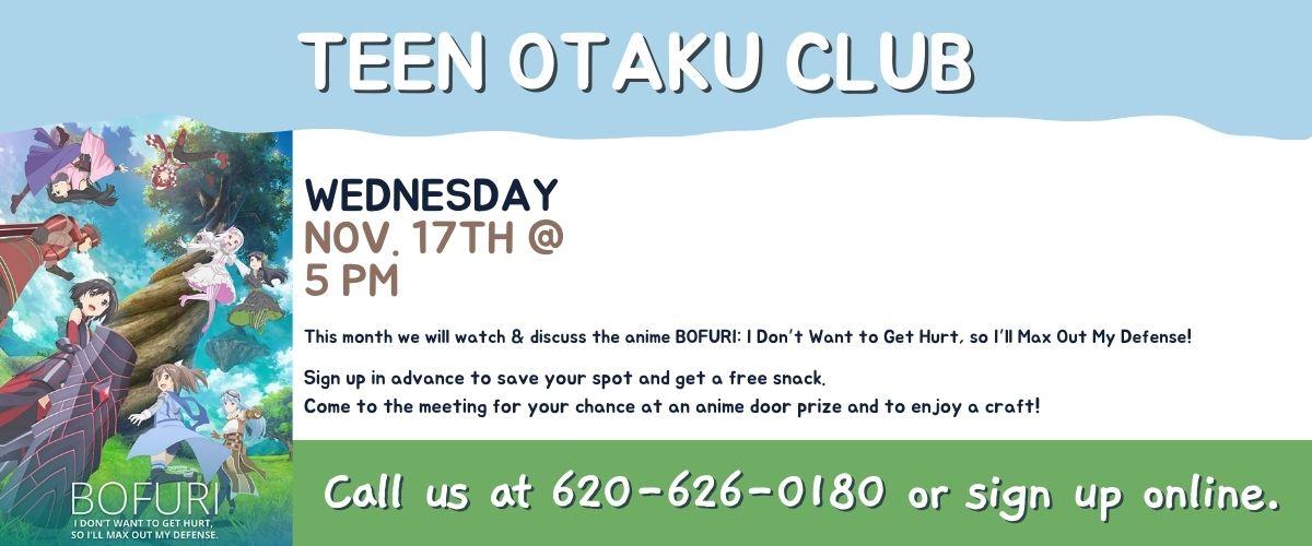 November 2021 Teen Otaku Club