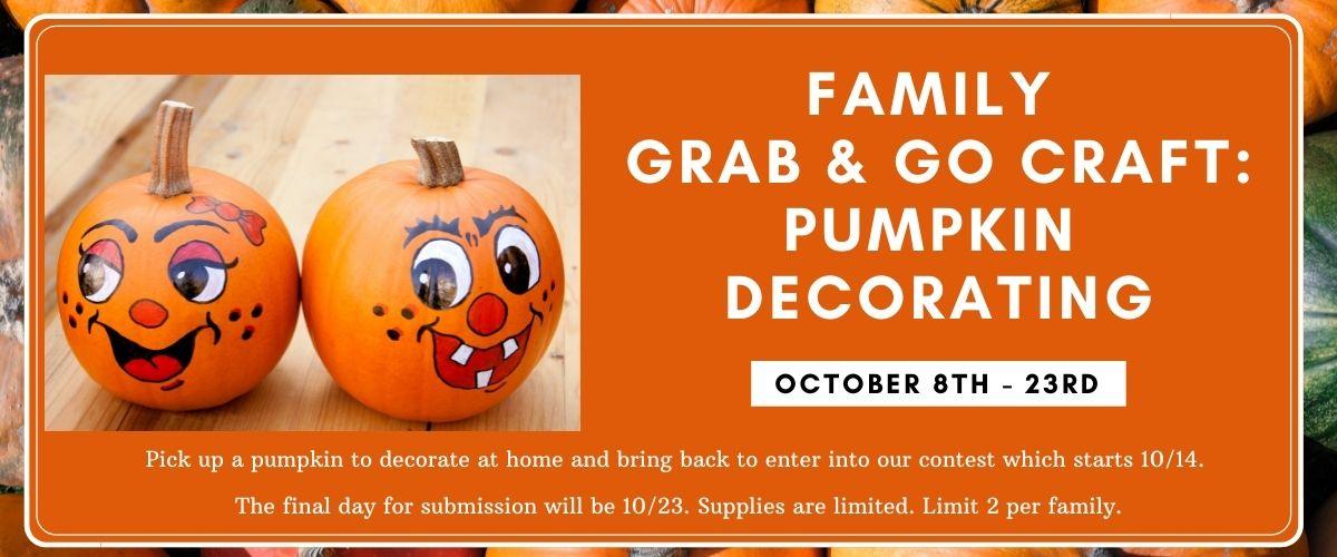 October 2021 family grab & go kit